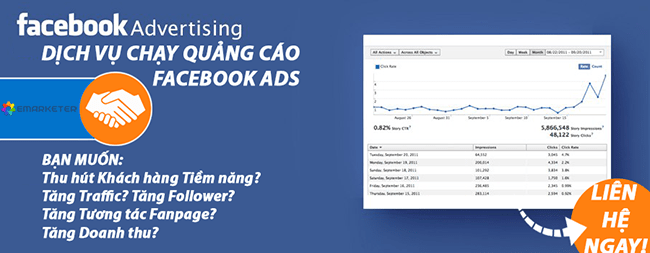 quảng cáo trên facebook hiệu quả