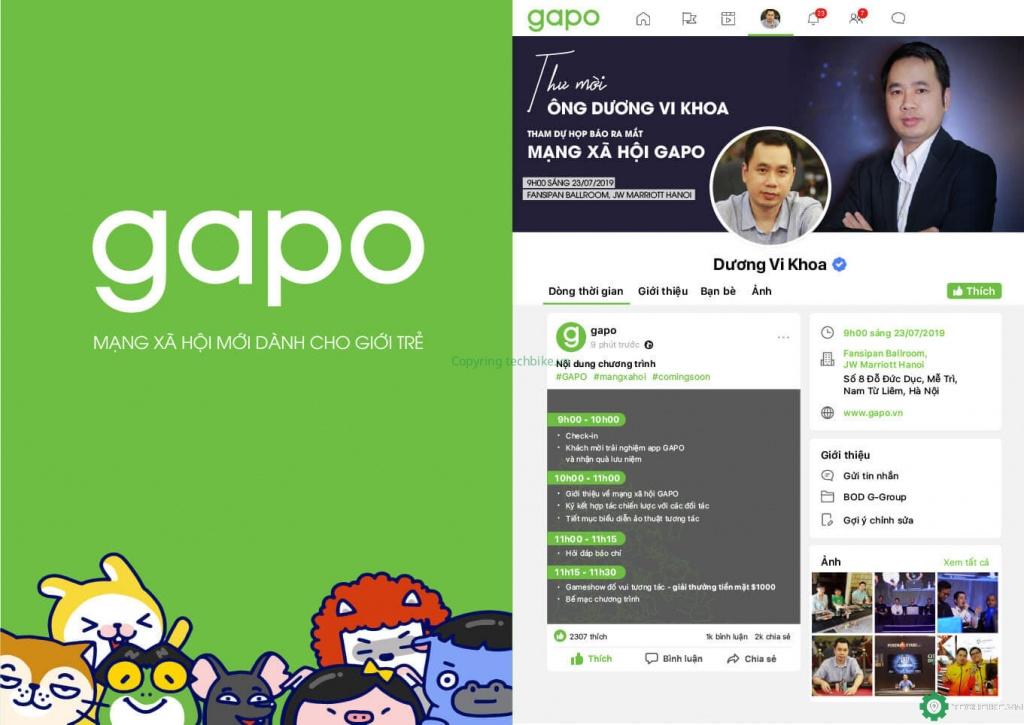 Mạng xã hội Gapo Việt Nam