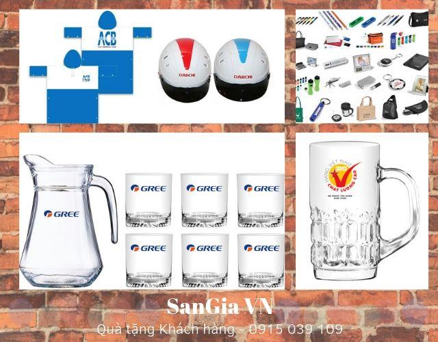 Các sản phẩm quà tặng của SanGia VN vô dùng đa dạng